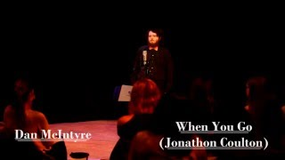 Dan McIntyre - When You Go (Jonathan Coulton Cover)