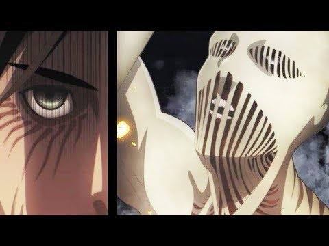 Attack on Titan 102 Chapter 進撃の巨人 Review: Eren, Levi & Mikasa Vs Beast, Jaw & Warhammer Titans!