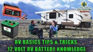 RV Basics Off Grid Tips & Tricks 12 Volt RV Battery Setup Knowledge Of Electrical System