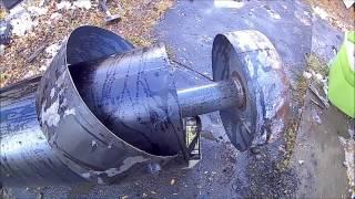 Chia Sẻ Cách Làm Lò Sưởi, Sử Dụng Bằng Nhớt Thải ( home make waste oil heater )...Video # 65