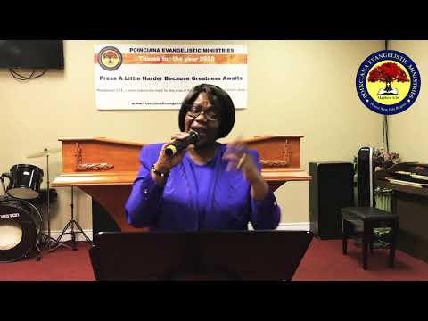 """The Lord Wants to Untie You"" with Pastor Claudette Clarke"