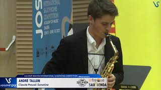 André Tallon plays Sonatine by Claude Pascal