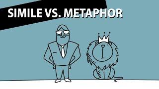 Simile vs. Metaphor