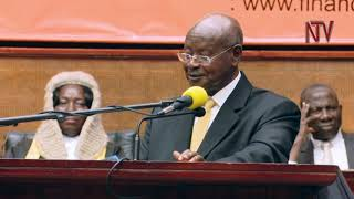 Following the presentation of the budget, President Museveni has