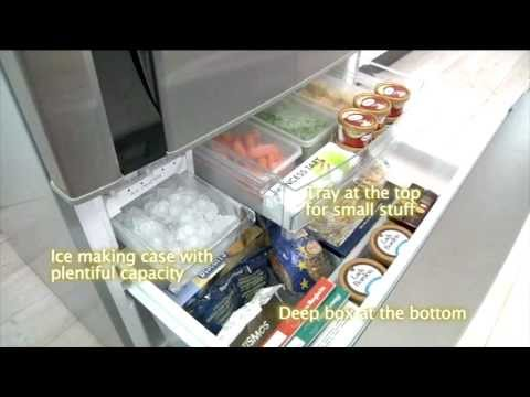 Panasonic Bottom Mount Refrigerators feature Inverter and ECONAVI Technology