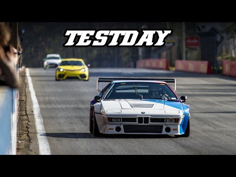 M1 Procar, Cayman GT4, Civic TCR, Tyrrell F1, RS3 LMS, Testday Zolder (2019-04-18)