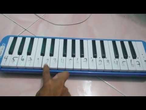 Not angka lagu pianika goyang dua jari