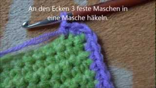 Topflappen Mausezähnchen Häkeln Picots Häkeln самые популярные видео