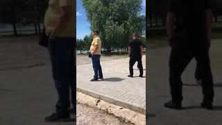 Рейдерский захват ресторана в Обуховке, Днепропетровщина