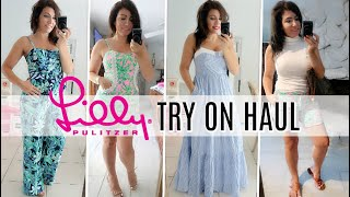 LILLY PULITZER CLOTHING TRY ON HAUL 2020 // SUMMER OUTFIT IDEAS // RENT THE RUNWAY UNLIMITED