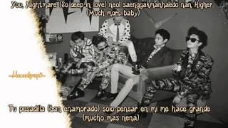 SHINee - Nightmare (Audio) [Sub español+Rom]
