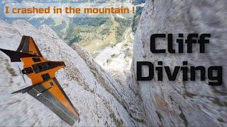 "Cliff Diving - FPV - Mini Drak 40"" - GoPro Hero 6"