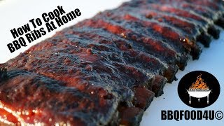 How to cook easy fall off the bones BBQ ribs - BBQFOOD4U