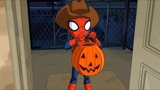 Великий Человек-паук - Стервятник - Сезон 3 Серия 7 | Marvel Хеллоуин