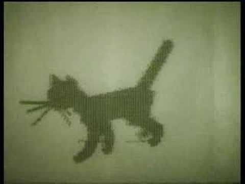 """""""Kitten"""" 1968 computer animation"""
