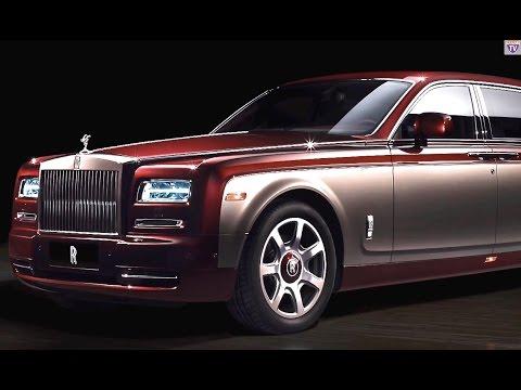 Rolls-Royce Phantom 2015 INTERIOR Bespoke Rolls-Royce Pinnacle Commercial CARJAM TV 4K 2015