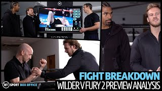 Full Wilder v Fury 2 Fight Breakdown with Ben Davison and David Haye