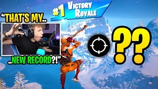I joined squads fill and broke my HIGHEST KILL RECORD AGAIN in Fortnite... (must see)