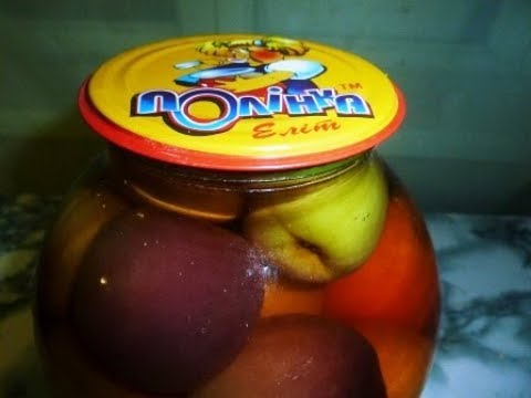 консервированные персики на зиму простой рецепт