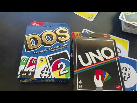 Dos Card Game Review