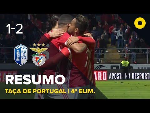 FC Vizela 1-2 SL Benfica Lisabona