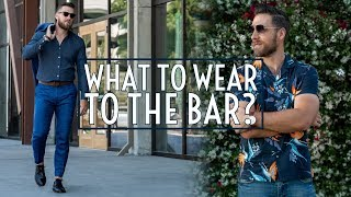 6 Outfits To Wear For A Night Out    Bar Lookbook 2019    Mens Fashion