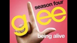 Being Alive - Glee Cast Version (With Lyrics)