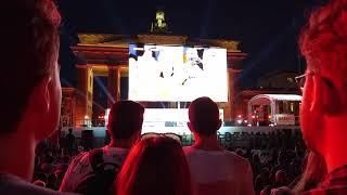 07.07.2018 Berlin. Россия - Хорватия 2:2. Реакция фанзоны