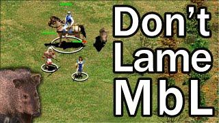 AoE2 Expert 1v1! Don't Lame MbL!