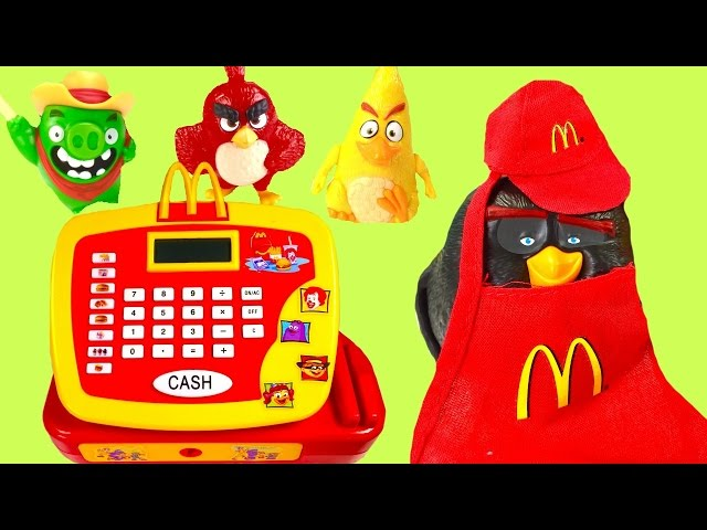 how to work the mcdonalds cash register game