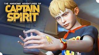CAPTAIN SPIRIT - No Universo de Life is Strange! Gameplay do Início, em Português PT BR!