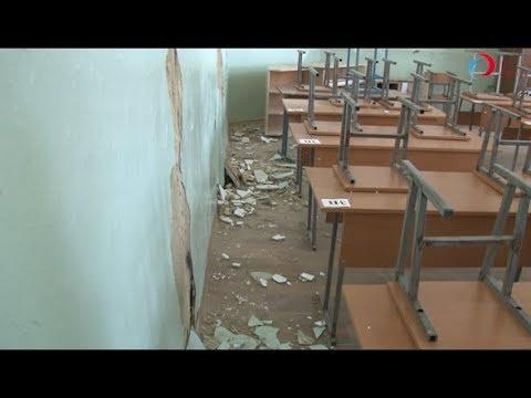 Последствия землетрясения в Буйнакске