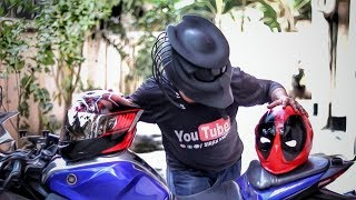 Predator and Deadpool in Town | India's Most Crazy Custom Helmets | Vlog 83