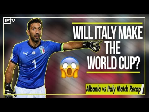 WILL ITALY EVEN MAKE IT TO THE WORLD CUP?! | Albania vs Italy 0-1 Match Recap