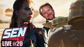 Black Widow Trailer & Rian Johnson Wants to Direct an Episode of The Mandalorian - SEN LIVE #20