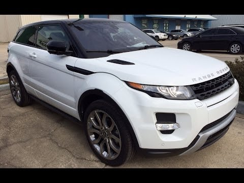 2014 Range Rover Evoque Coupe Exterior & Interior - Walk Around