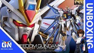 RG 1/144 Strike Freedom Gundam - Unboxing