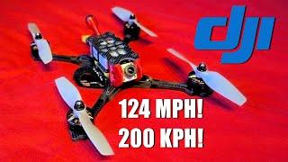 DJI Drone Does 124mph!