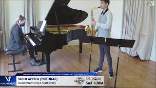 Vasco AVENÇA plays Incandescence by I. Gotkovsky #adolphesax