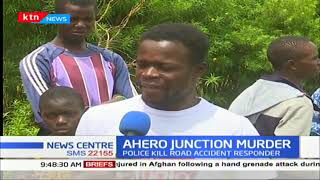 Police in Ahero shot and killed a student at scene of accident