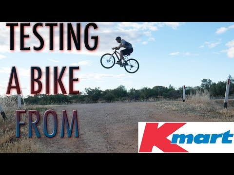 Buying and Testing a Department Store Bike