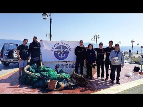 Καθαρισμός του βυθού στην Ελευσίνα-200 κιλά σκουπίδια αφαιρέθηκαν(vid)…