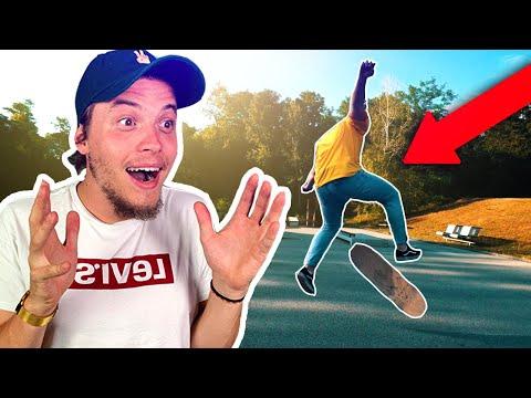 SKORO som TO DAL ! ( skate stunt )