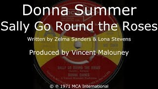 Donna Summer - Sally Go Round the Roses LYRICS - HQ 1971