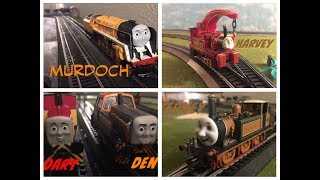 5 New engines: Stepney, Harvey, Murdoch, Den and Dart