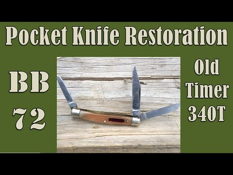 Pocket Knife Restoration - Old Timer 340T