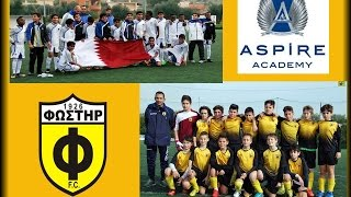 preview picture of video 'ASPIRE ACADEMY QATAR-FOSTIRAS FC (U13 2003)'
