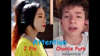 Attention J Fla  with Charlie Puth