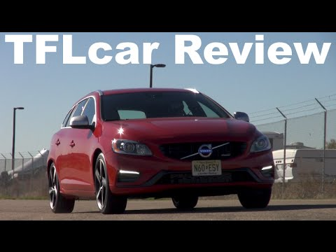 2015 Volvo V60 T6 0-60 MPH Review: Almost able to leap tall buildings in a single bound
