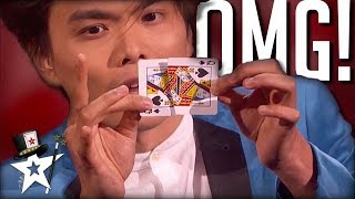 Shin Lim Turns Jay Leno & Audience into Magicians on America's Got Talent | Magicians Got Talent